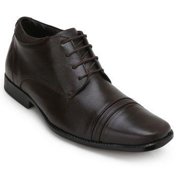 Sapato Couro Roberto RT19-9905 Marrom TAM 44 ao 48