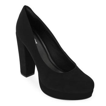 Sapato Meia Pata Sense Flex AN20-114570NB Preto TAM 40 ao 44
