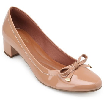 Sapato Sense Rio Laço ZA19-2006 Nude TAM 40 ao 44