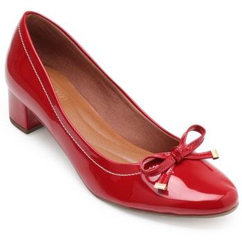 Sapato Sense Rio Laço ZA19-2006 Vermelho TAM 40 ao 44
