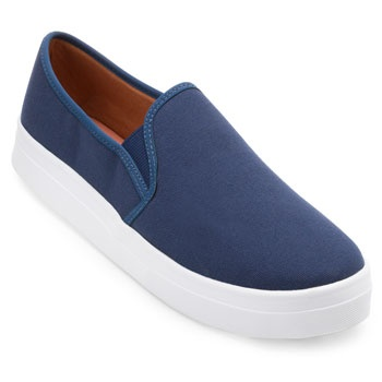 Slip On Lona Sense Way GB19-1261 Marinho TAM 40 ao 44