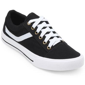 Tênis Street Pro Feet  PF19-FA015 Preto-Branco