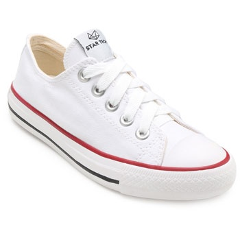 Tênis Canvas Low Star Tech ST19-ST0143 Branco