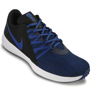 Tênis Nike Varsity Compete Trainer NK18 Preto-Marinho TAM 44 ao 48