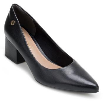 Sapato Scarpin Via Uno VU18-318001 Preto