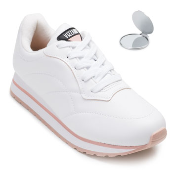 Tênis Jogging Vizzano e Espelho VZ20-1333201 Branco