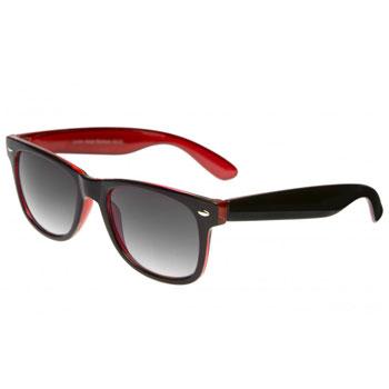 Óculos Ray Flector Brick Underground W2132CO Preto-Vermelho