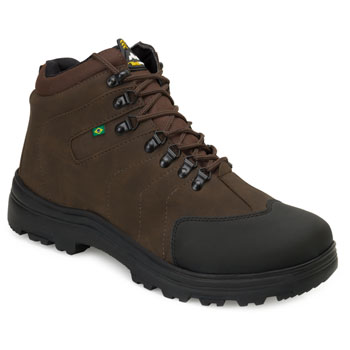 Bota Adventure West Line 4 WL21 Preto-Marrom TAM 44 ao 50