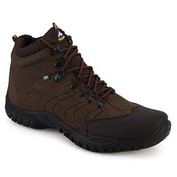 Bota West Line 4 Preto-Chocolate-Preto TAM 44 ao 50