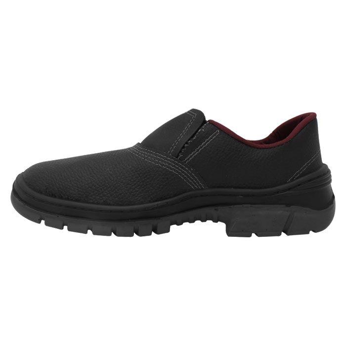 1a1f61342d ... Sapato Pé de Ferro Bico em PVC Masculino Preto-Vermelho TAM 44 ao 46 ...