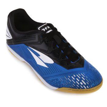 Chuteira Futsal Dray DR18-367CO Azul-Branco