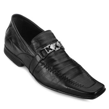 Sapato Masculino Focal Flex 6935 Preto TAM 44 ao 48
