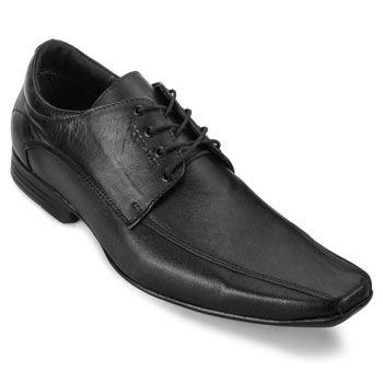 Sapato Masculino Focal Flex 8204 Preto TAM 44 ao 48