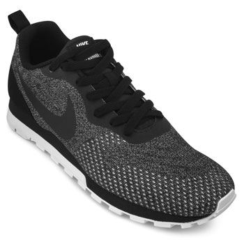 Tênis Nike NK18-MD Runner 2 Preto-Branco