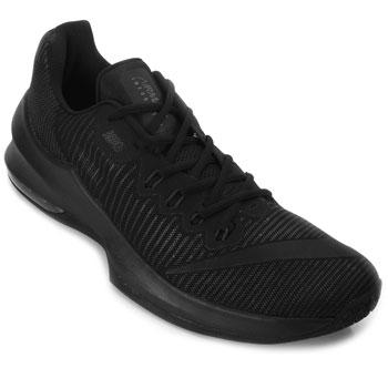 Tênis Nike Air Max Infuriate 2 Low NK18 Preto TAM 44 ao 48