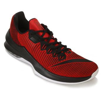 Tênis Nike Air Max Infuriate 2 Low NK18 Vermelho-Preto-Branco TAM 44 ao 48