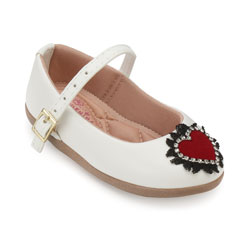 Sapato Boneca Pequenina Baby PQ18-1015 Branco
