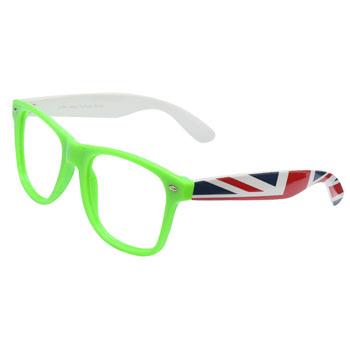 8d0516b338702 Armação de Óculos Ray Flector W2164 Verde-Branco