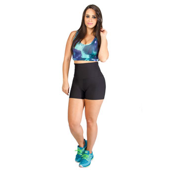 Shorts Catwalk Feminino 210CO Preto TAM P ao GG