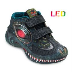 Tênis de Led Dino Park Infantil DP21-L124 Preto