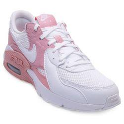 Tênis Nike Air Max Excee NK21 Branco-Rosa