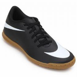 Chuteira Futsal Nike Bravata II IC NK19 Preto-Branco